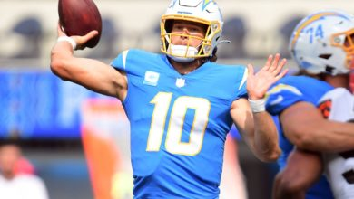 Baltimore Ravens vs Los Angeles Chargers NFL Week 6 Prop Bets 10/17/2021